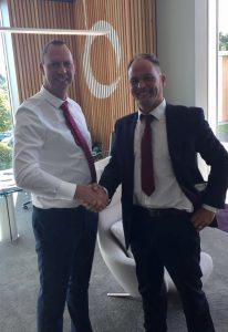 Simon Pearce meets Alan Hardy of Paragon Interiors Group